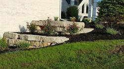 Silver Creek Outcropping Retaining Wall