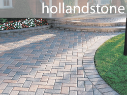 hollandstone unilock concrete paver