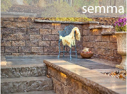 semma retaining concrete wall