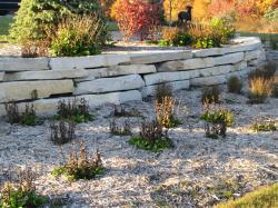 Silver Creek Outcroppings installed by Grand Haven Garden House