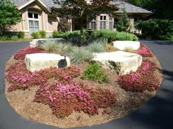 Silver Creek Outcroppings installed by Blue Ridge Landscaping
