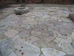Silver Creek flagstone patio