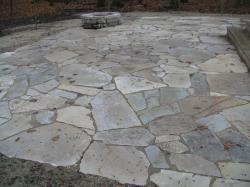 Silver Creek Flagstone Patio installed by Blue Ridge Landscaping
