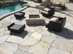 silver creek flagstone pool patio