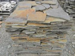 "Earth Tone Thin Colonial Wall Stone 1-3"" thick"