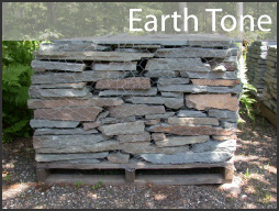 pennsylvania earth tone wall stone