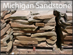 michigan sandstone wall stone