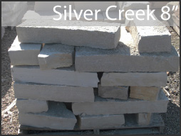 "silver creek fond du lac 8"" wall stone"
